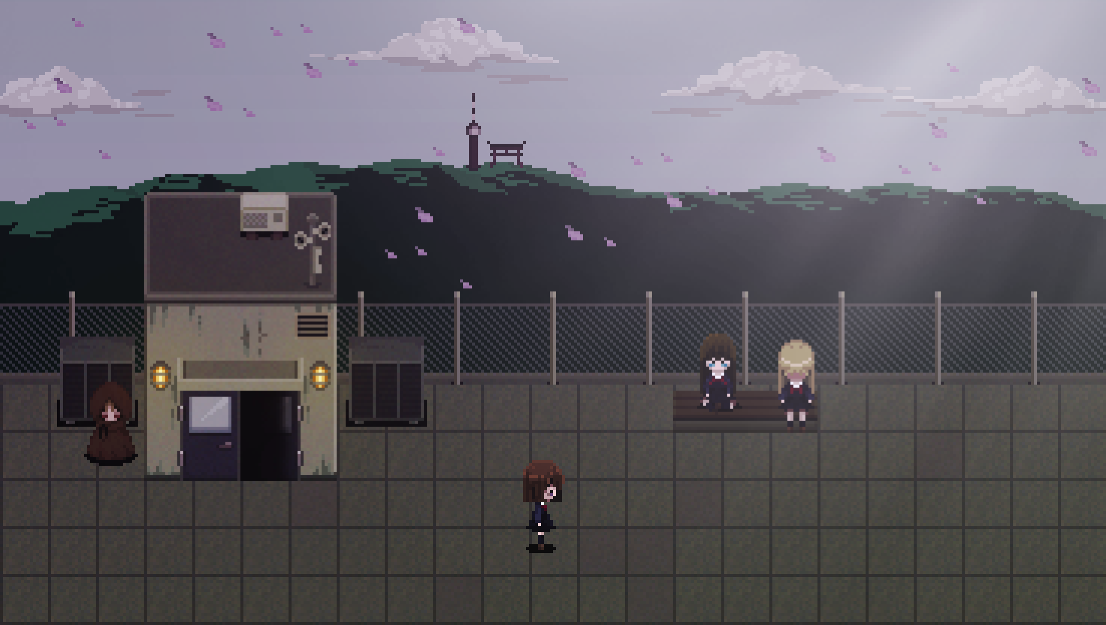 Mindfate Screenshot - School Roof